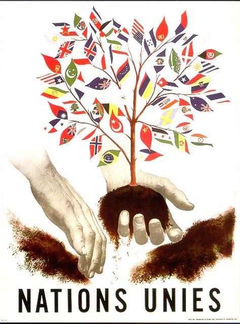 le si鑒e des nations unies affiche des nations unies
