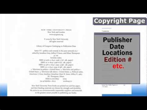 How To Find Info On Finding Citation Info Books