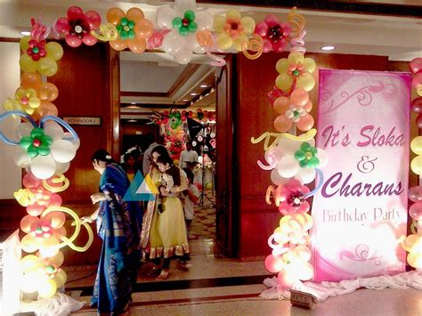 Entrance Decoration For Birthday by Birthday Entrance Decorations In Pondicherry