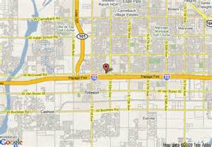 map of comfort suites tolleson