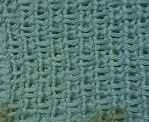 magic circle crochet stitch piece n purl linen stitch knitting tutorial and patterns stitch piece