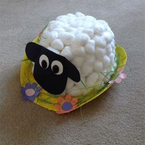 Handmade Easter Hats - sheep handmade easter bonnet hat boys