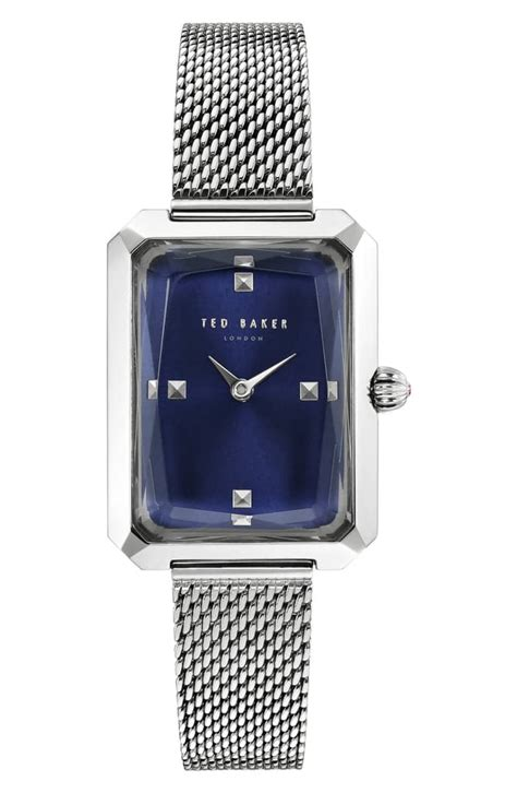 ted baker london  mesh strap   watches