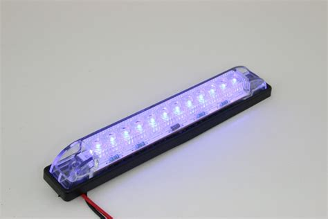 12 volt led light bar waterproof slim waterproof curved