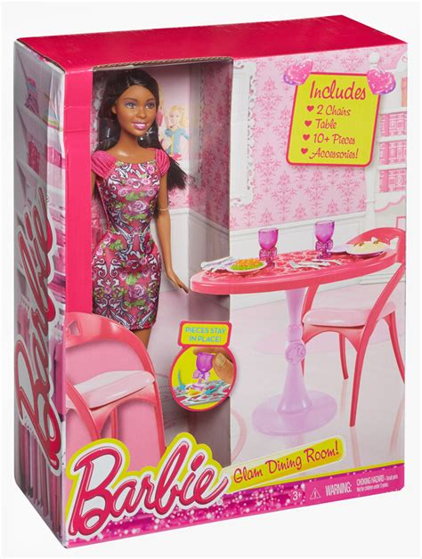 barbie dining room barbie african american doll and dining room set family
