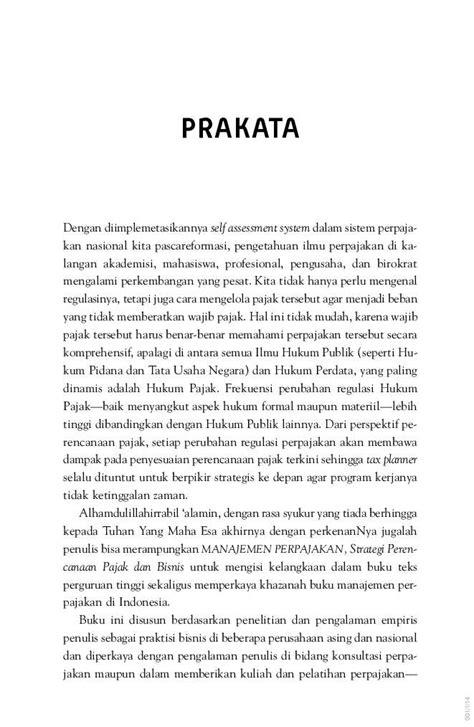 Buku Drs Chairil Anwar Pohan M Si Mba Pajak by Jual Buku Manajemen Perpajakan Strategi Perencanaan
