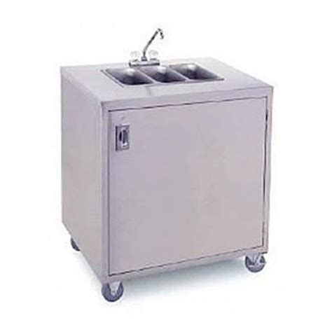 portable 3 compartment sink crown verity cvphs 3 portable 3 compartment sink