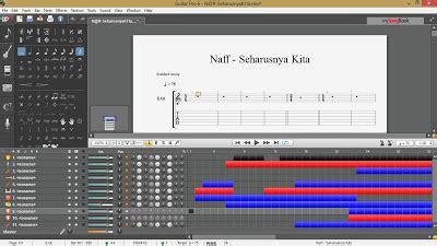 tutorial gitar spongebob belajar kord dan melodi gitar cara membuat file guitar