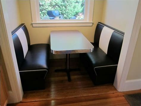 booth seating in nook   Kitchen Nook: Seating, Diner Booth