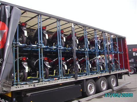 M T L Motorrad Transporte Logistic suntour 2012
