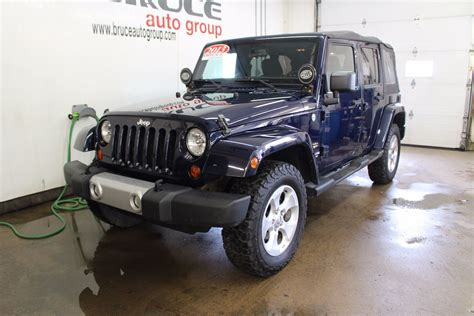 Soft Top For Jeep Wrangler Unlimited 2013 Used 2013 Jeep Wrangler Unlimited Soft And