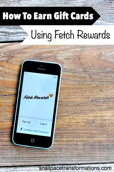 Earn Gift Card Rewards - how to earn gift cards using fetch rewards