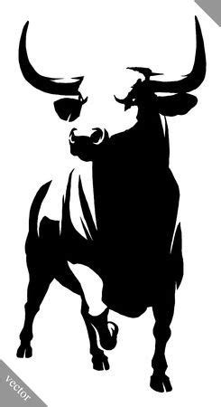 stock photo en  dibujos de toros dibujos de
