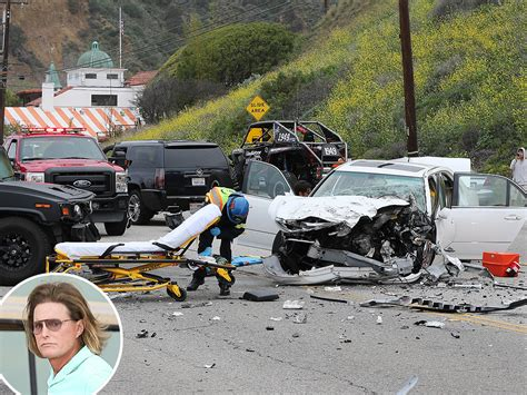 Pch Accident - bruce jenner in car crash on pch in malibu people com
