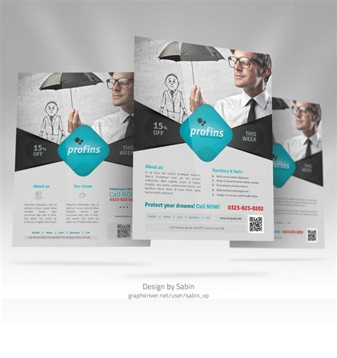 best flyer design graphicriver graphicriver insurance flyer template 01 by valentinpl on