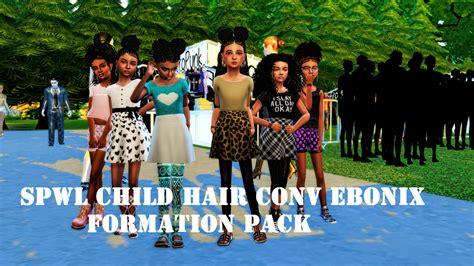 ebonix sims 4 child sims 4 ebonix hairs for children sheplayswithlifeee