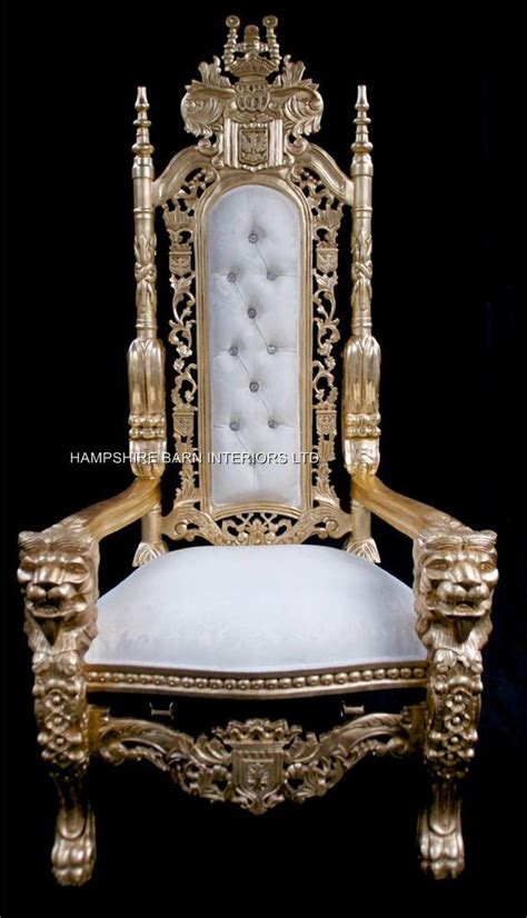 large throne chair large throne chairs hshire barn interiors part 3