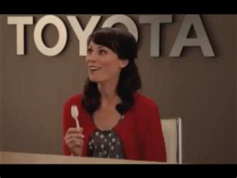 toyota commercial actress orange is the new black toyota selling cars with a friendly face minding business