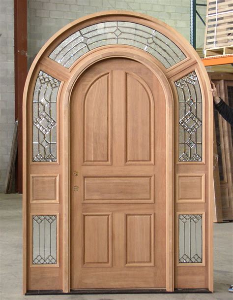 Arch Doors by Mahogany Top Exterior Doors