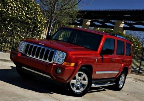Jeep Tow Package Buy Used 2006 Jeep Commander Sunroof Tow Package 3rd Seats