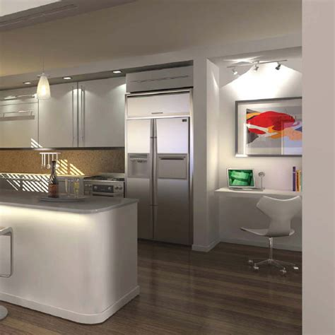 modern condo kitchen design home office renovation contractor condo kitchen design