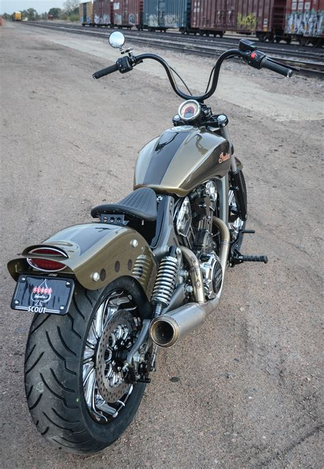 Klock Werks Unveils Custom Indian Scout ?Outrider?   Iron
