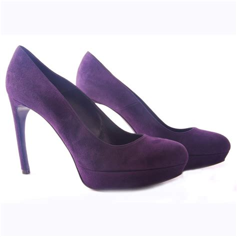 purple shoes womens designer shoes with heels mcqueen pedro