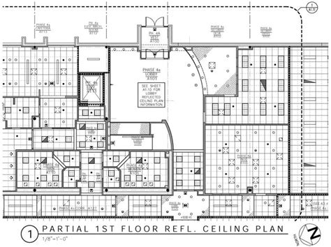reflected ceiling plan drawing images  pinterest