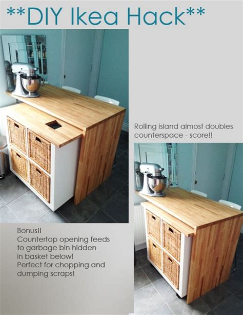 diy ikea kitchen island 94 best images about ikea hacks on