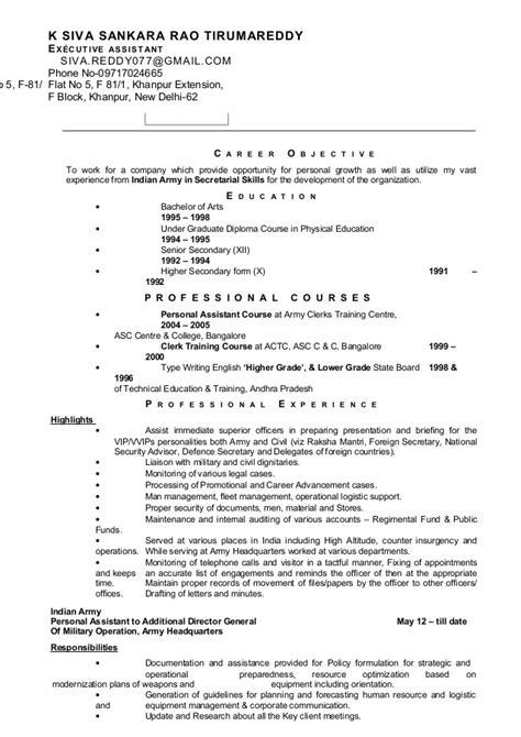 J N Reddy Resume by Resume Siva Sankar