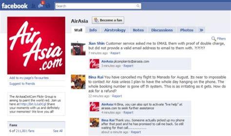 airasia facebook air asia claims social media victory admits huge