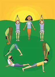 Sun Salutation Kids Yoga Poses