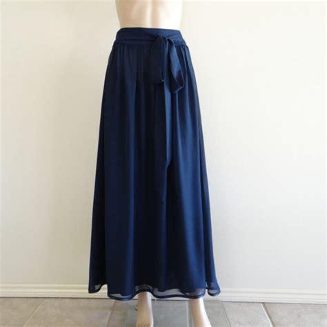 navy blue skirt maxi skirt