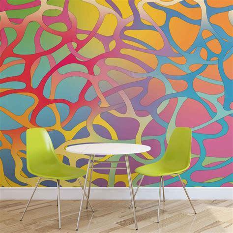 Abstract Art Wall Murals abstract art wall paper mural buy at abposters com