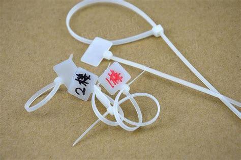 Sale Cable Ties Label Colour 100pcs white zip cable tie label with