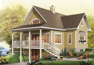 What Is A Daylight Basement this plan is a daylight basement but not a walk out basement