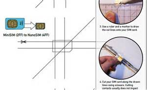 how to cut a micro sim to nano sim