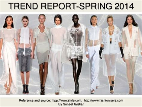 Style Report Fashions by Fashion Trend Report 2014