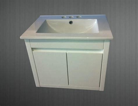 600mm Wall Hung Vanity Unit (1 Tap Hole, 3 Tap Hole, 600mm