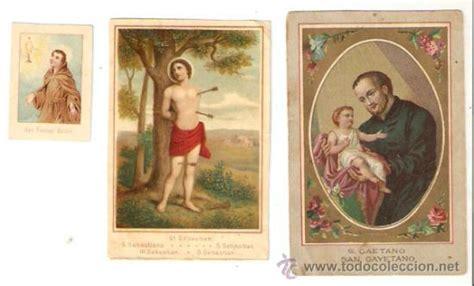 imagenes religiosas todocoleccion 3 estas religiosas antiguas de santos cayeta comprar