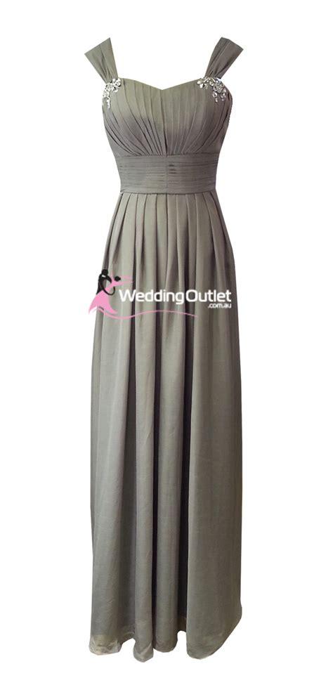 Grey Bridesmaid Dress by Grey Maxi Bridesmaid Dress Style A1029 Weddingoutlet Au
