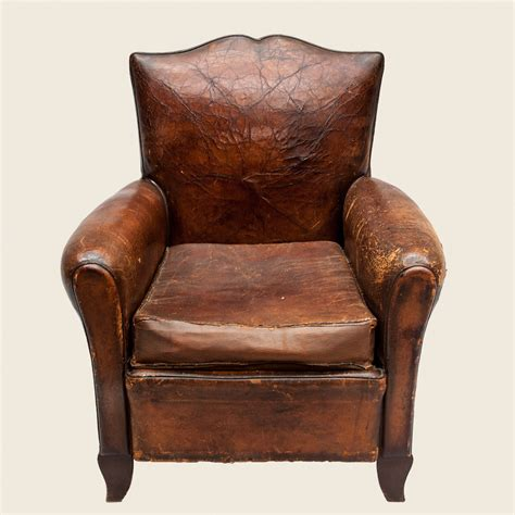 Leather Club Armchairs by Vintage Moustache Leather Club Armchair Vintage Matters