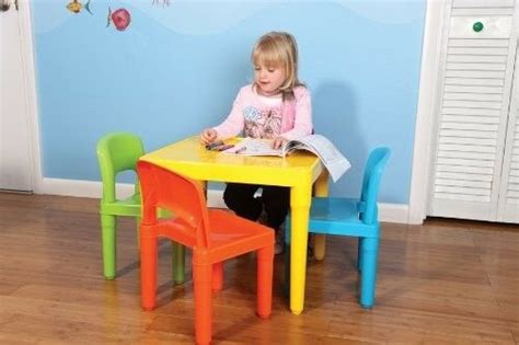 Toddler Plastic Chair - table 4 chair set toddler playroom furniture play