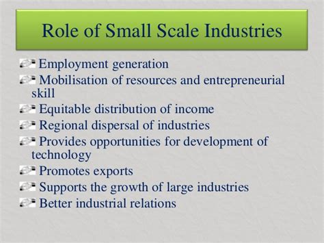 Types Of Cottage Industries by Government Small Scale Industries