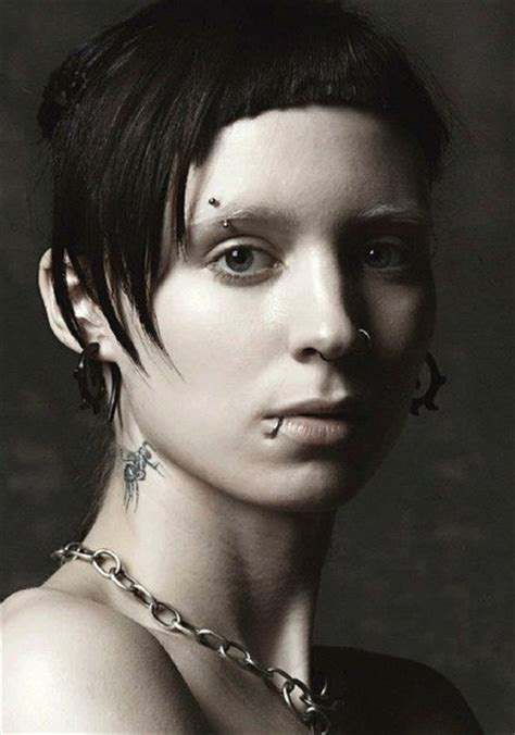 rooney mara dragon tattoo rooney mara as lisbeth salander salander