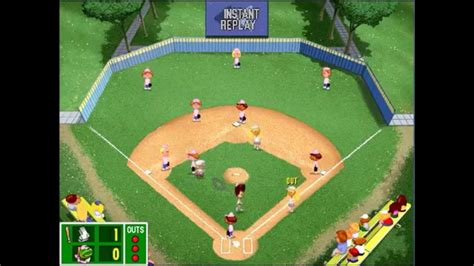 backyard baseball pc game backyard baseball league pc tournament game 15 come on