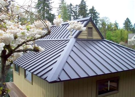 metal roof types smalltowndjs com metal roofs pinterest metals gable roof design and