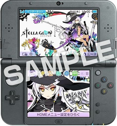 Kaset 3ds Stella Glow stella glow second 3ds theme early purchase bonuses perfectly nintendo