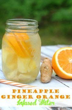 Pineapple Blueberry Detox Water by Orange Pineapple And Blueberries Detox Water Drinks