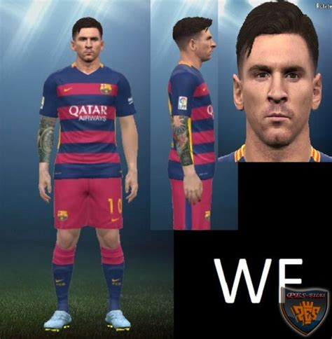 messi tattoo in pes 2016 pes 2015 messi face arm tatto update патчи и моды